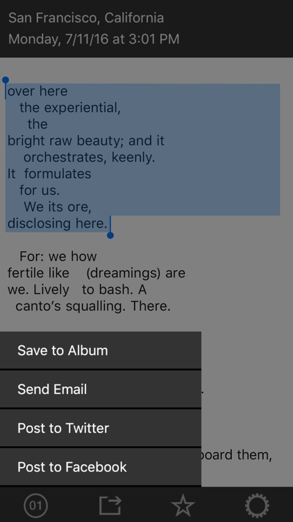 The Ambient Poem screenshot-2