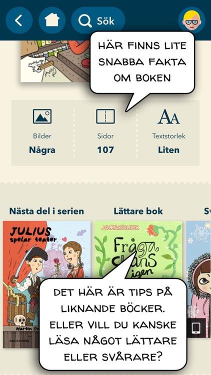 Bibblix – Hitta en bra bok! screenshot-3