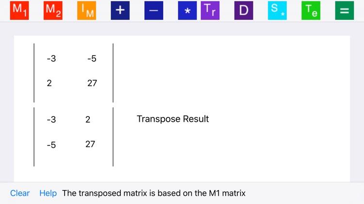 Elementary Matrix Algebra screenshot-3
