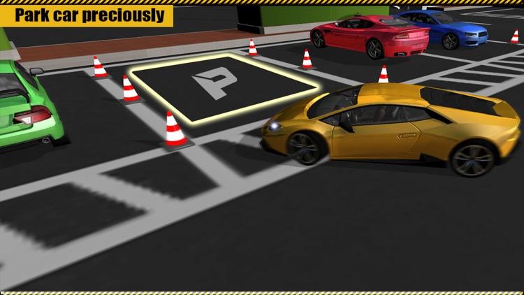 Multi-Level Car Parking & Driving School Simulator screenshot-3