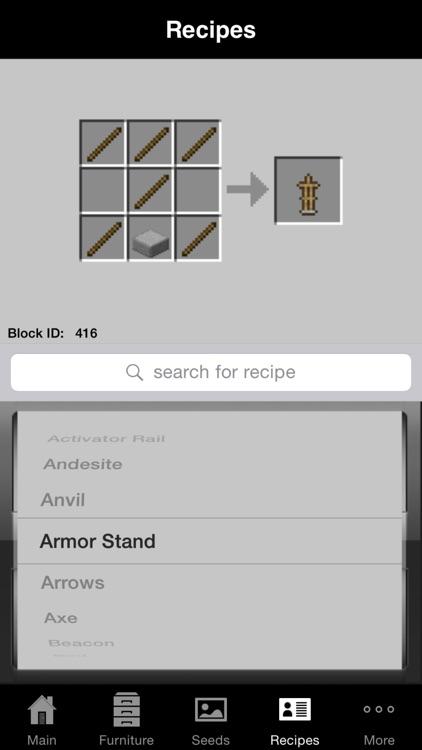 Guidecraft - Furniture, Guides, + for Minecraft screenshot-3