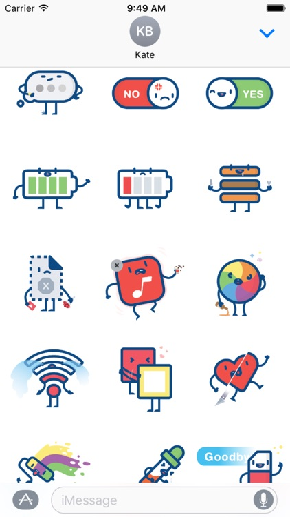 iConic Sticker Pack