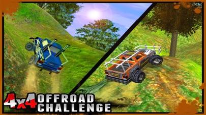 4X4 Offroad Challenge  - 3D Maximum Hill Climb Carのおすすめ画像2