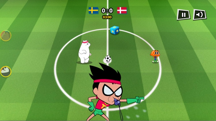 足球游戏®  - Cartoon World Cup!Soccer Star screenshot-3