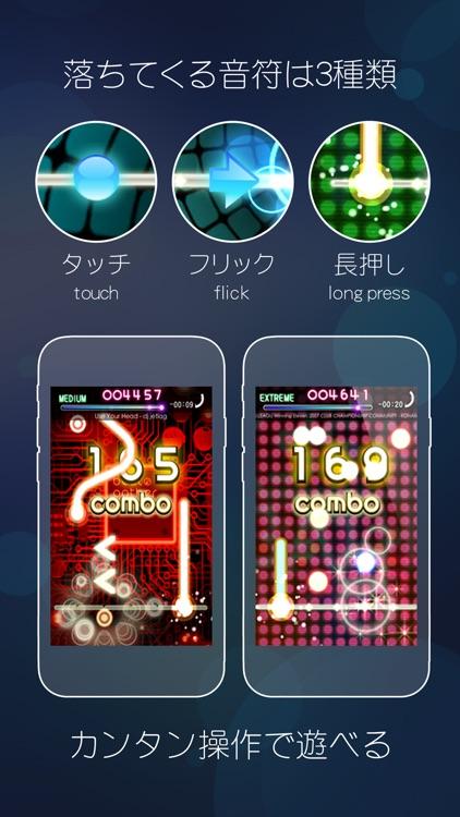 beat gather 動画×音楽×音ゲー screenshot-3