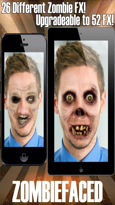ZombieFaced - Scary Zombie Booth Photo Filters screenshot one