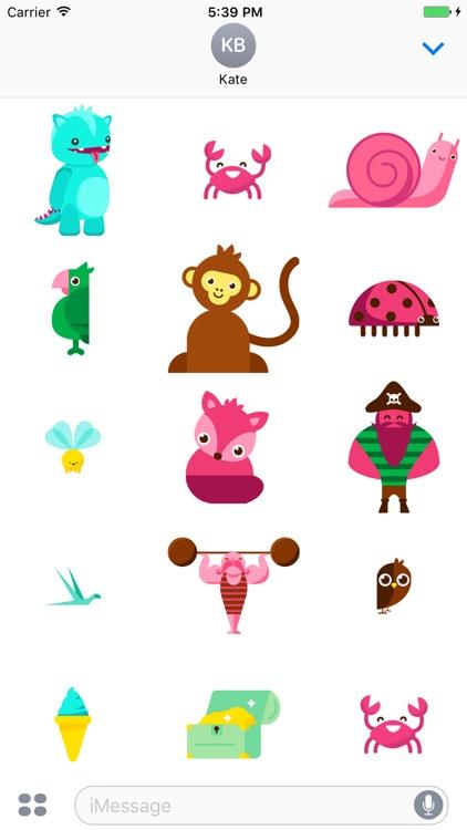Mamborado Stickers