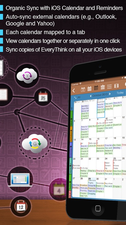 EveryThink-Organizer, Calendar & To Do Manager. screenshot-4
