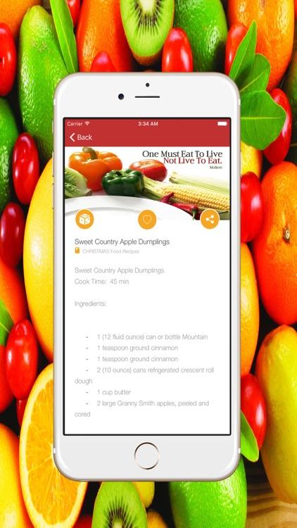 Healthy Food Recipes & Home Recipe For Christmas screenshot-4