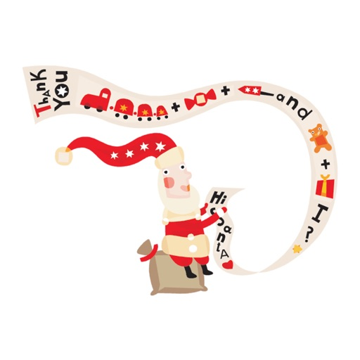 Cute Christmas characters - Fx Sticker