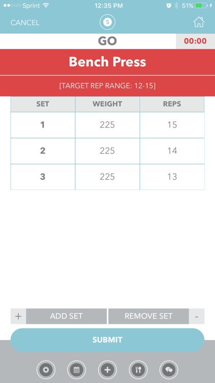 Spotter: Weightlifting Workout and Fitness Tracker