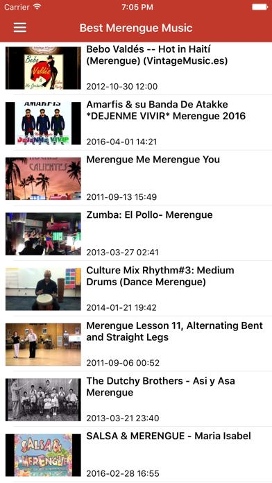 Salsa Music Spanish Songs Pro & Bachata Merengue screenshot four
