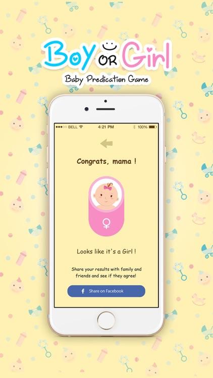 Baby Prediction App