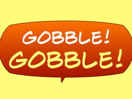 We think you'll 'gobble up' these fun animal noise, comic sound effect bubbles