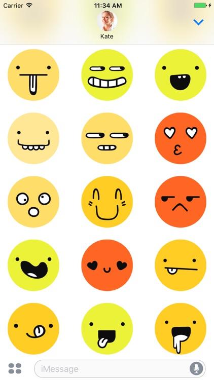 99 Emoji - Stickers for iMessage screenshot-3