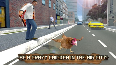 Crazy Chicken Simulator 3D: Farm Escape