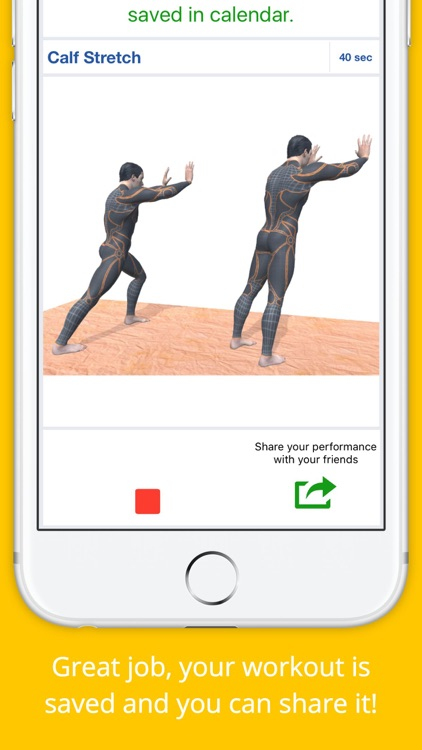 12 Min Stretch Challenge Workout Free Pain Relief screenshot-3
