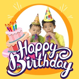 Happy Birthday Greeting Cards Maker – Photo Frames