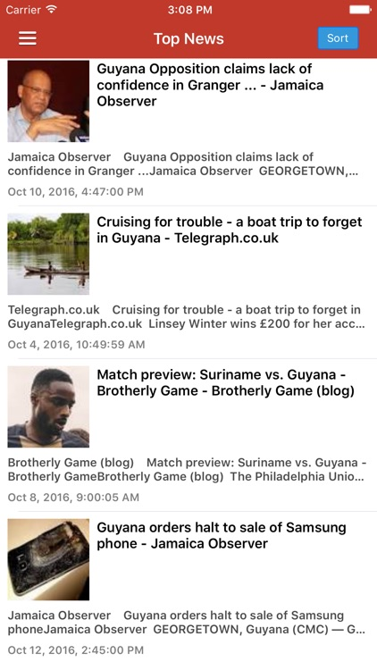 Guyana News & Radio Pro screenshot-0