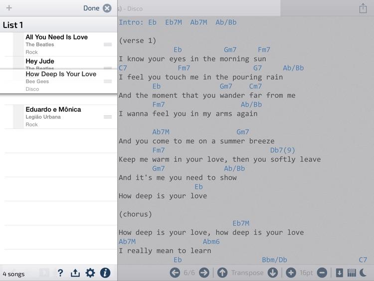 DataCifra - Song Manager screenshot-3