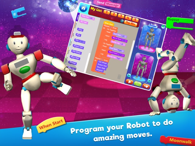 Boogie Bot - Coding for kids - Learn to code on the App Store