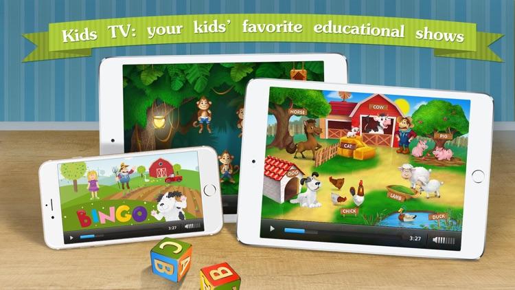 Kindergarten math & reading learning kids games