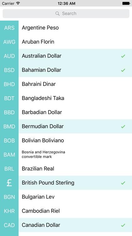 Currency Exchange Rates Converter screenshot-4