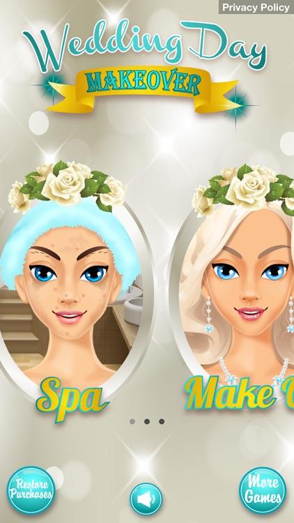 Wedding Day Makeover - Makeup, Dressup & Girl Game