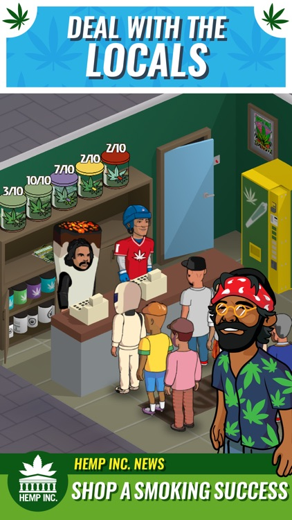 Hemp Inc - Weed & Marijuana Business Game