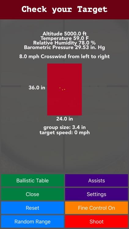 Longshot - Long Range Shooting Simulator & Mil Dot screenshot-4