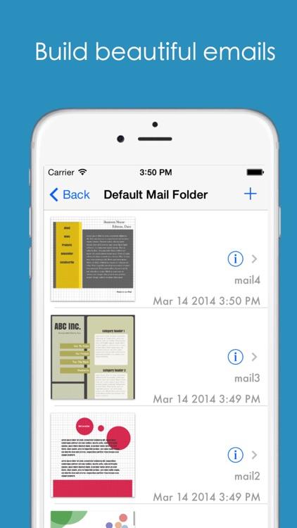 HTML Mailer - email and newsletter designer