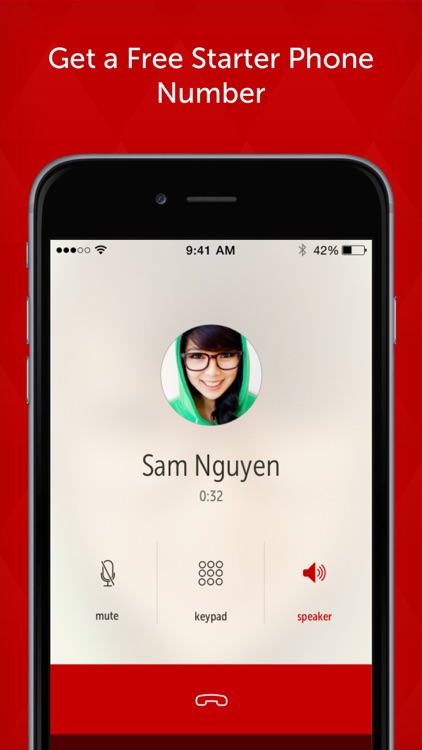 Hushed Call & Text: Anonymous Phone Number Changer app image