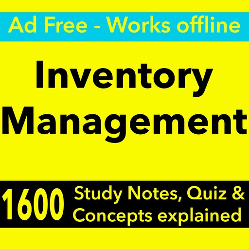Inventory Management Exam Review -Terms & Quizzes by Tourkia CHIHI