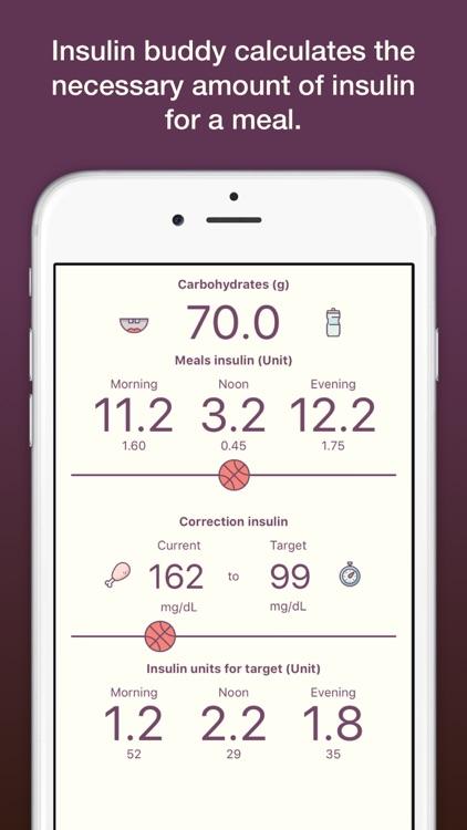 Insulin Buddy - Diabetes Mellitus Bolus Calculator