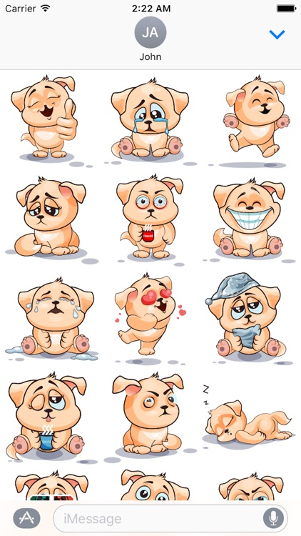 Dog Cute Sticker Pack 02