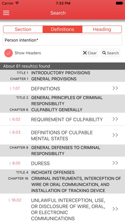 Texas Penal Code 2017 screenshot-3