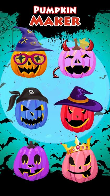 Pro Halloween Pumpkin Make.r & Carve.r Makeup Game