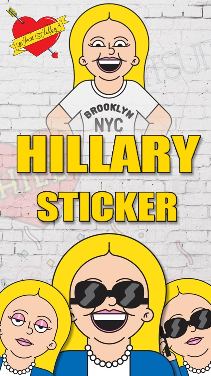 Hillary Clinton Emoji Sticker