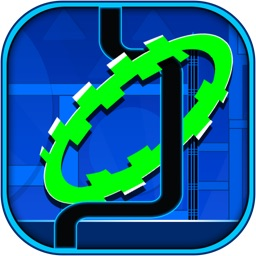 Geometry Shape Pipe Dash -  Stay in the Ring Line Reaction Runner FREE