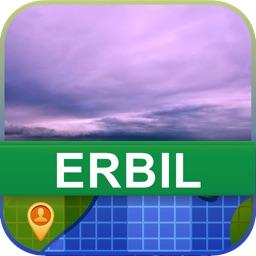 Offline Erbil, Iraq Map - World Offline Maps