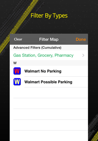 Walmart Overnight Parking Locator screenshot 4