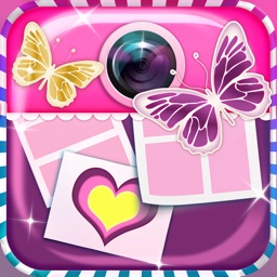 Cute Photo Editor Collage Maker: Pic Art for Girls