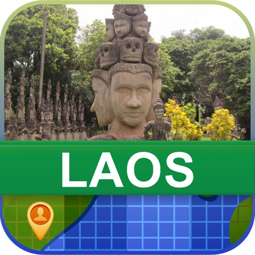 Offline Laos Map - World Offline Maps