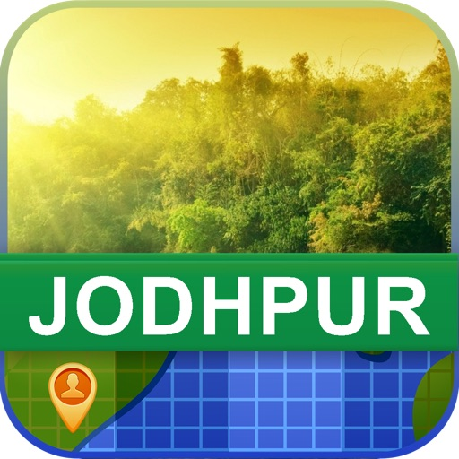 Offline Jodhpur, India Map - World Offline Maps