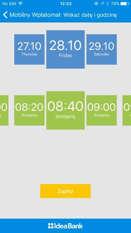Mobilny Wpłatomat Idea Bank SA screenshot-4