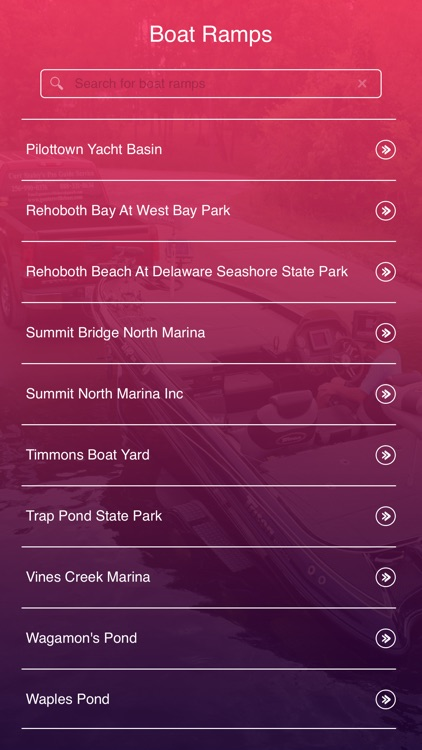 Delaware Boat Ramps screenshot-1