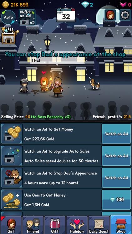 The Little Match Girl : Happy Clicker screenshot-3