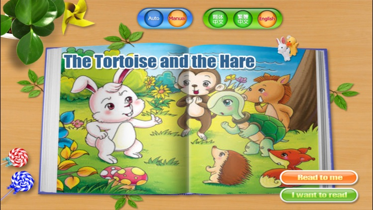Tortoise and the Hare - Bedtime Fairy Tale iBigToy screenshot-4
