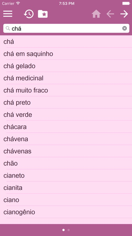 Portuguese Multilingual dictionary screenshot-3