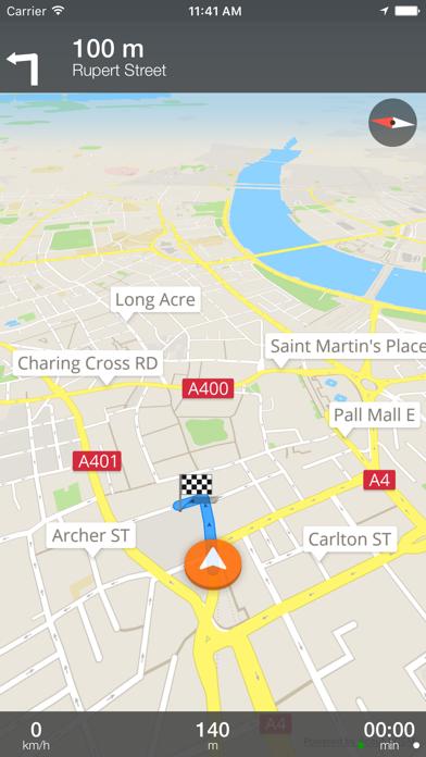 British Columbia Offline Map and Travel Trip Guide screenshot one